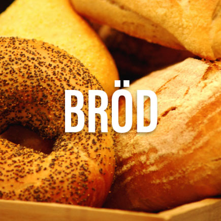 Bröd och bullar i konditoriet på Gastroteket i Malmö