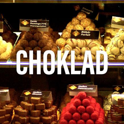 Choklad, praliner och godsaker på Gastroteket i Malmö